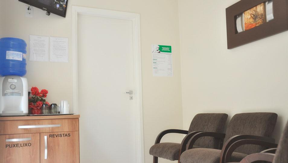 Sala de espera privativa